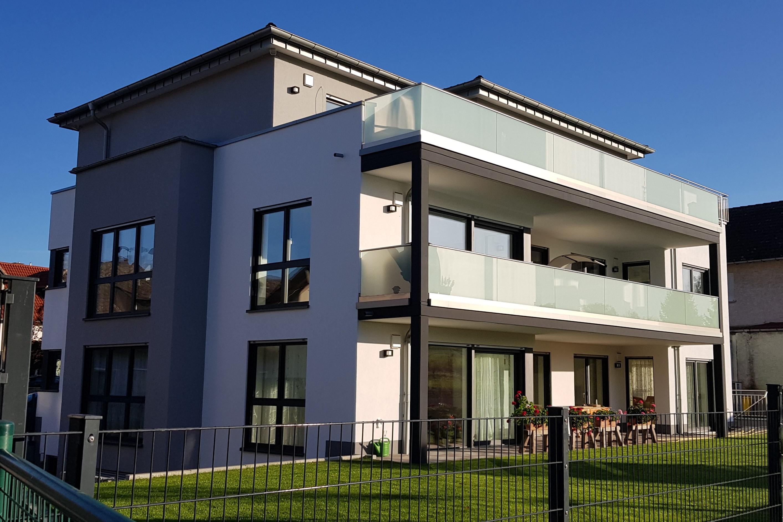 Neubau Mehrgenerationenhaus Mainz- Ebersheim Garten