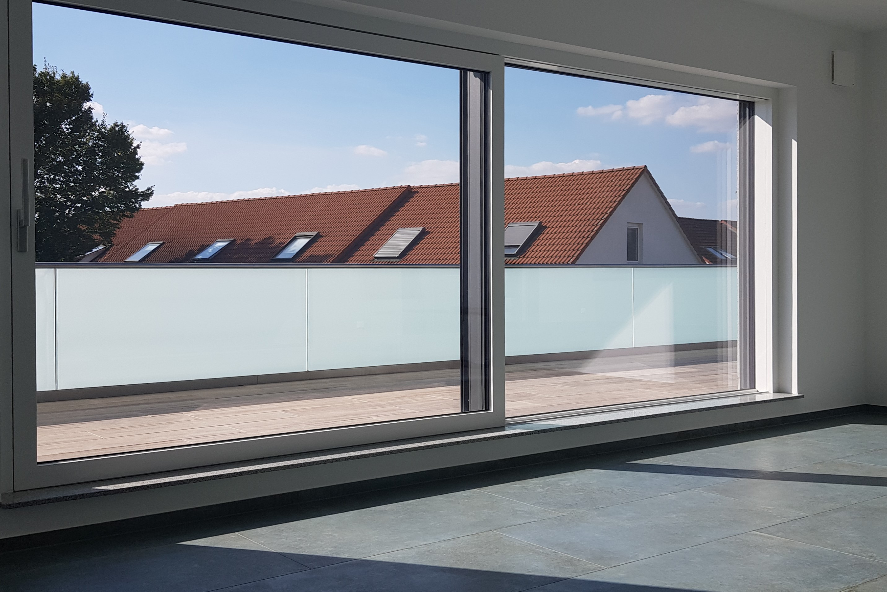 Neubau Mehrgenerationenhaus Mainz- Ebersheim Wohnzimmer_1